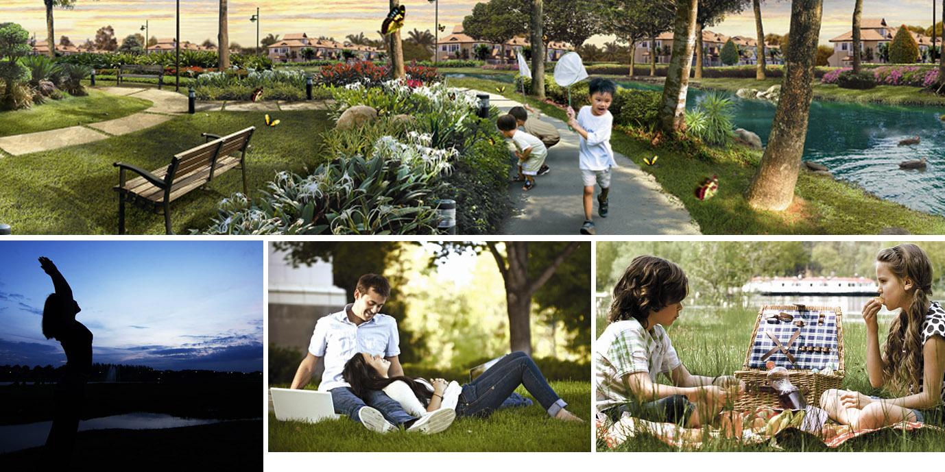 """Trải nghiệm xanh tại Dahlia Homes"""" sẽ mang đến cho bạn và gia đình cảm nhận chân thực nhất về cuộc sống tại KĐT Gamuda Gardens"""