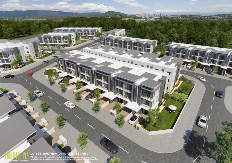 Dự án Khu đô thị Gamuda Gardens gồm nhiều khu liền kề cao cấp có giá bán hợp lí