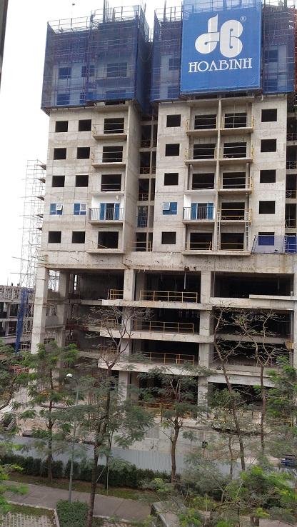 Cập nhật tiến độ xây dựng chung cư Gamuda The Two