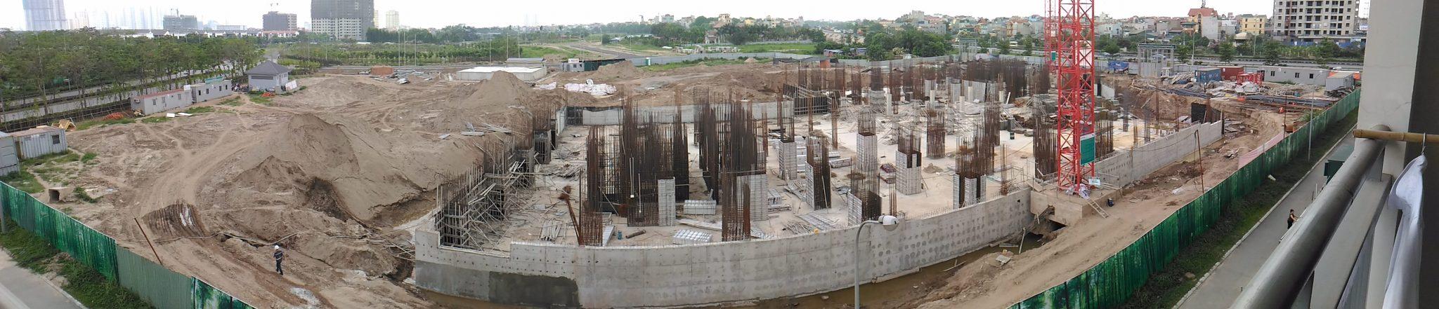 cập nhật tiến độ xây dựng chung cư cao cấp The Zen CT1 Gamuda
