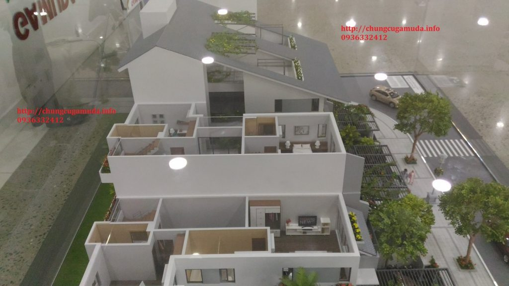 Biệt thự song lập Gamuda SD5 Iris Homes - Mặt cắt 02