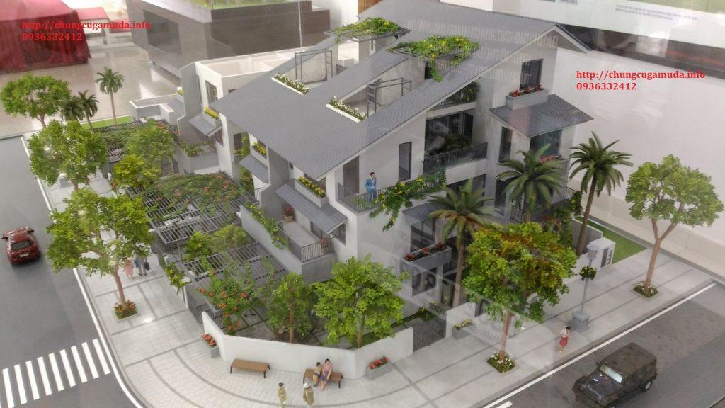 Biệt thự song lập Gamuda SD5 Iris Homes - Căn góc
