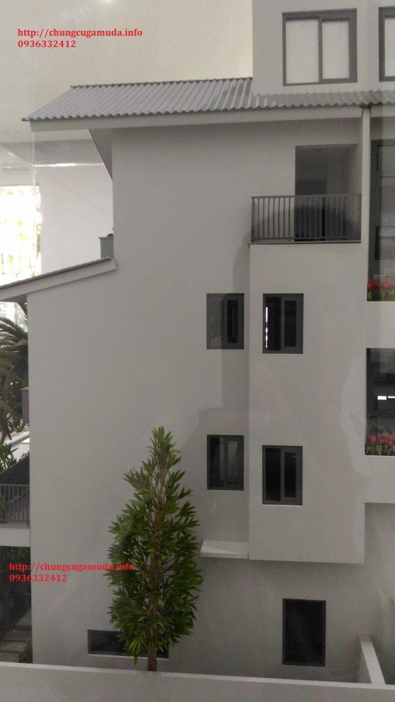 Biệt thự song lập Gamuda SD5 Iris Homes - đằng sau nhà