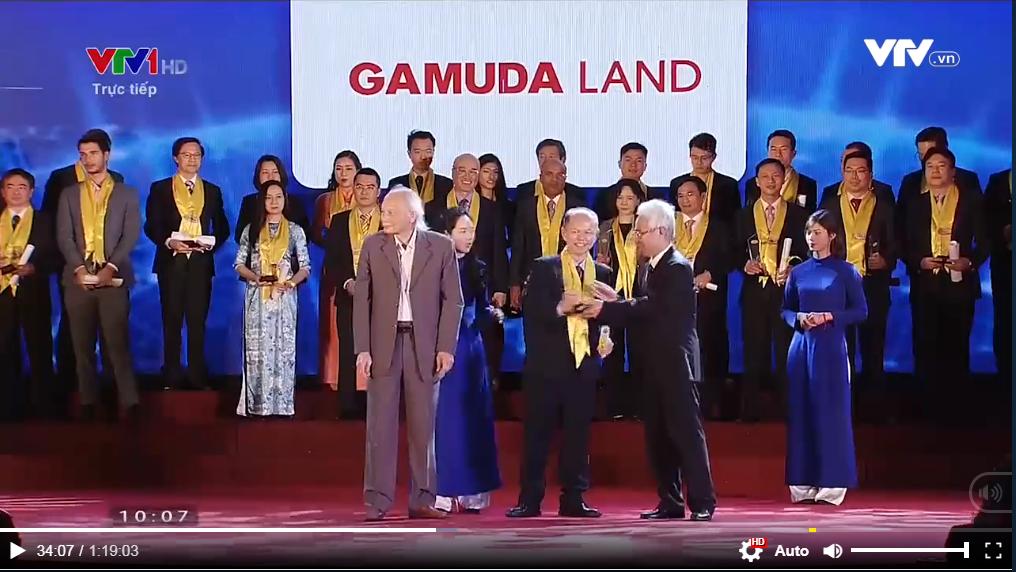 Gamuda nhận giải thưởng Rồng Vàng của Thời báo kinh tế