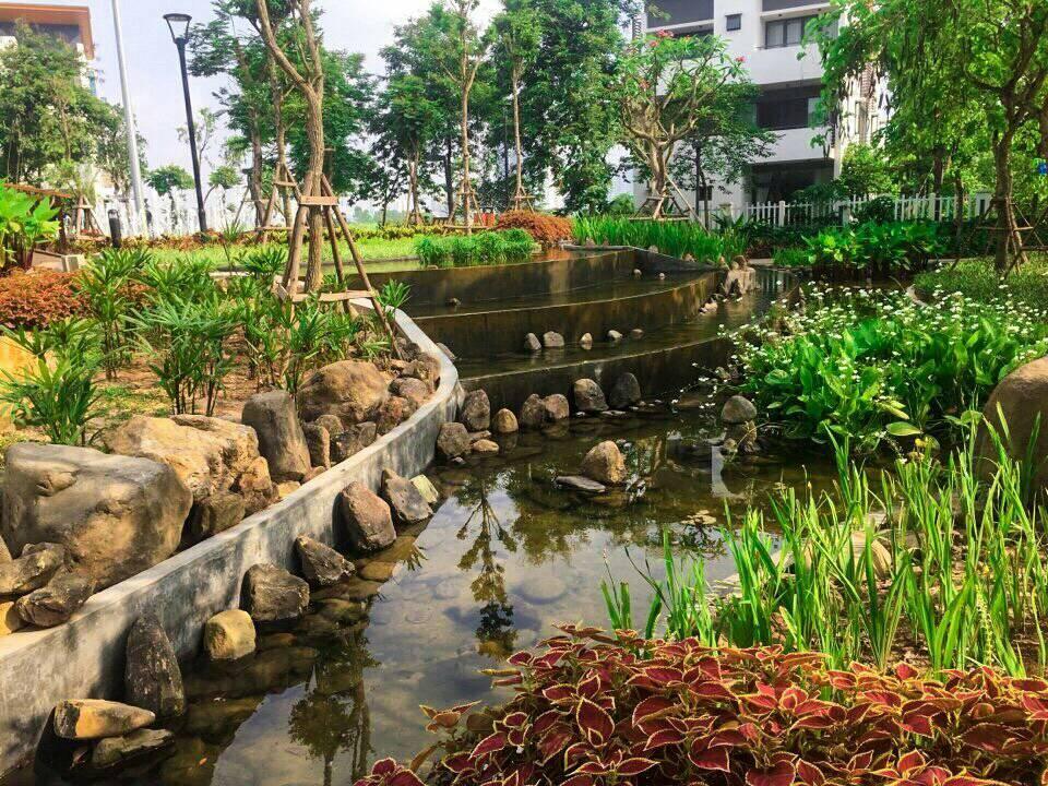 1 góc công viên tiểu khu Eden, thuộc khu đô thị Gamuda Gardens