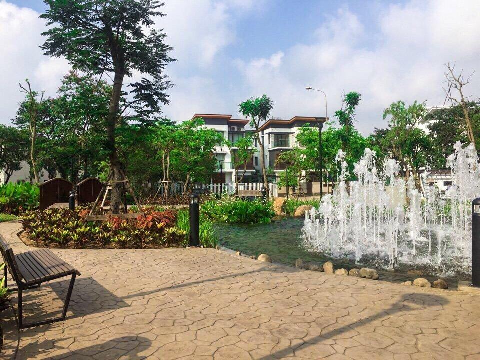 1 góc công viên cạnh tiểu khu Eden, thuộc khu đô thị Gamuda Gardens