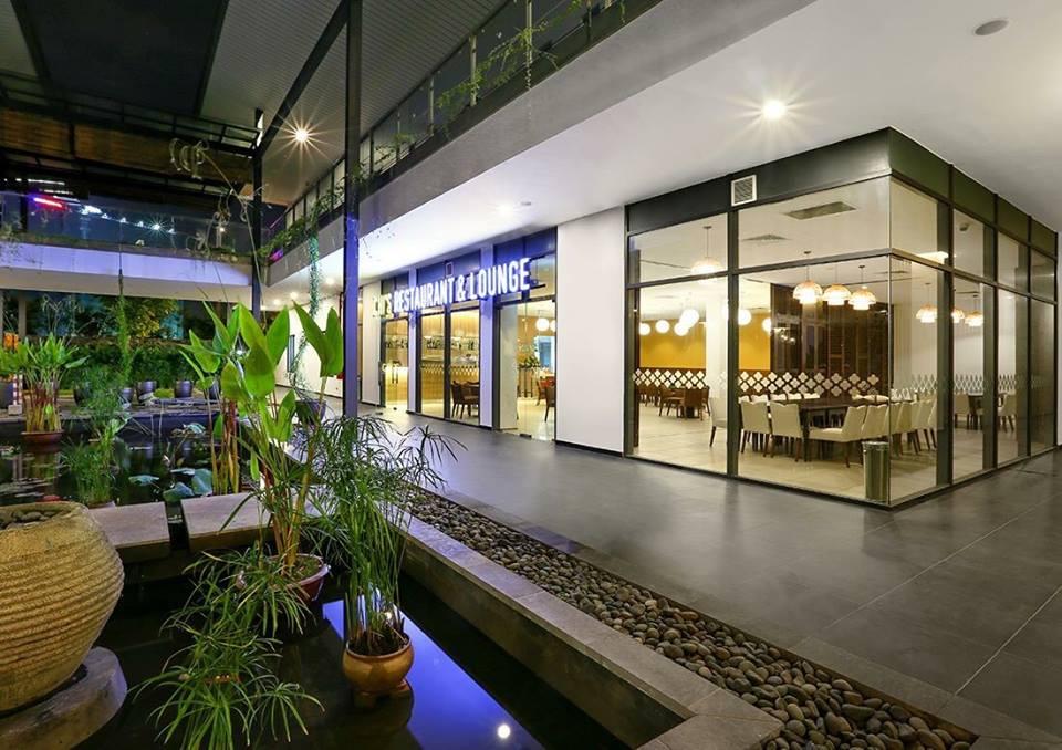 Nhà hàng trong khu nhà câu lạc bộ Gamuda Gardens